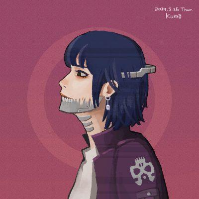 絵 - Girl
