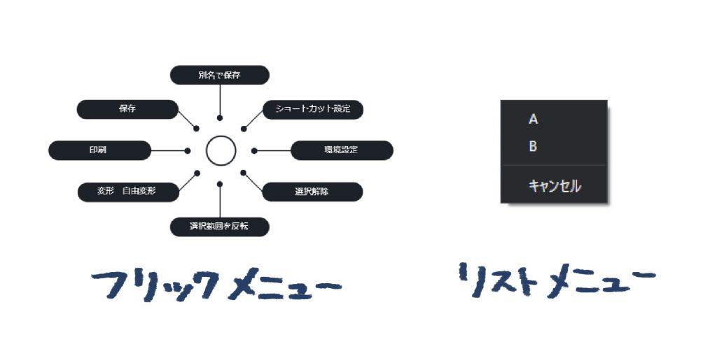 Orbital2 メニュー